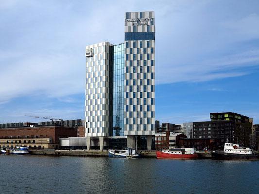 Helsinki, Hotel Clarion im Westhafen