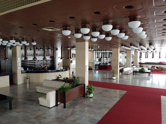 Empfangshalle des Hotels Albatros