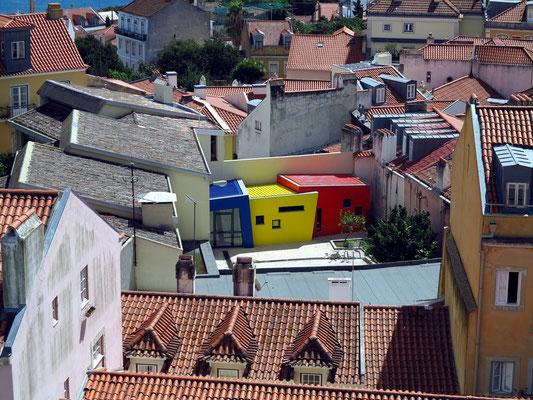 Castelo de São Jorge, Blick nach Süden