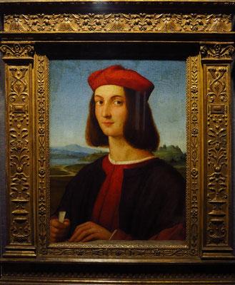 Raffael (Raffaello Santi): Porträt von Kardinal Ippolito d'Este in seiner Jugend, 1504/1505