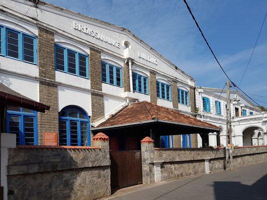 Southlands College, eine der besten Mädchenschulen im Süden von Sri Lanka
