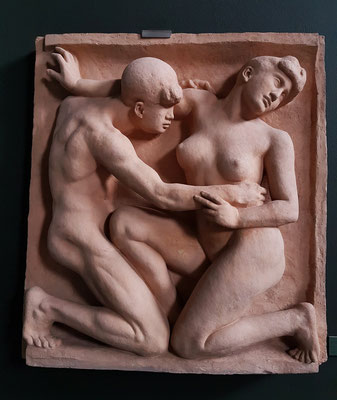 Aristide Maillol (1861-1944): Desire (Man and Woman), 1904