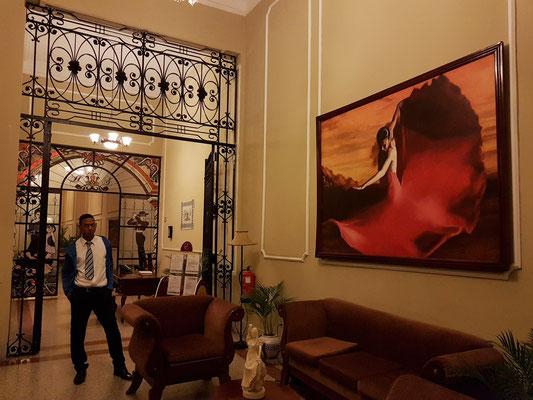 Hotel E La Sevillana, Eingangshalle