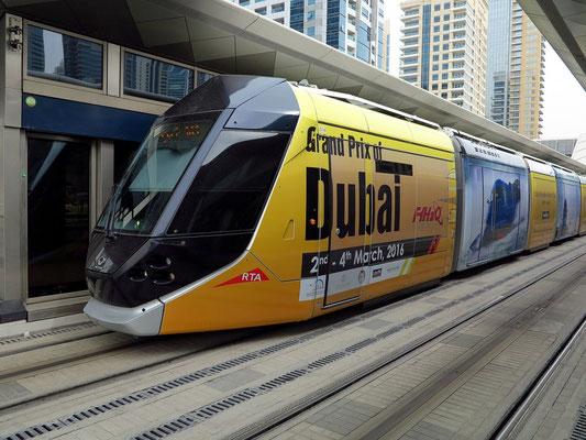 Dubai Marina Tram Station
