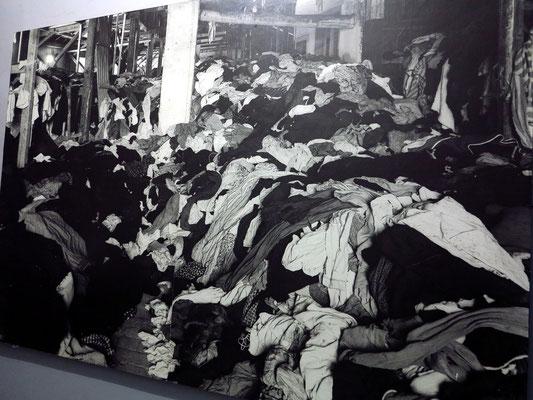 KL Auschwitz II, Sammellager für Kleidung