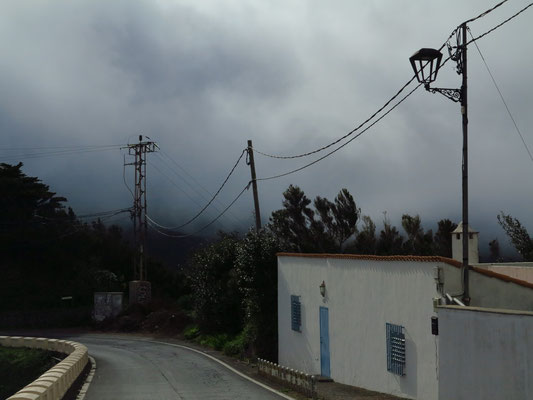 Passatwolke im Anaga-Gebirge