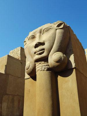 Elephantine, Hathor-Kapitell im Satis-Tempel