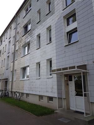 Neetzow, Außenansicht des Mietshauses