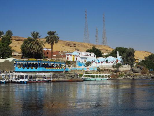 Das alte nubische Dorf Gharb Seheil