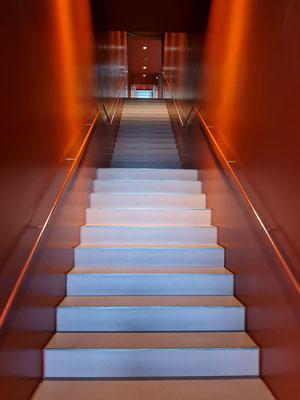 Treppenhaus im Museum Gunzenhauser