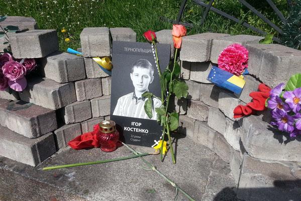 Todesopfer des Euromajdan