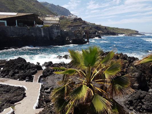 Garachico, Bereich der Meerwasser-Schwimmbecken