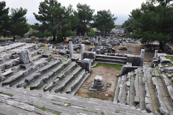 Bouleuterion, Versammlungsraum der Bule, des Rates der Stadt Priene