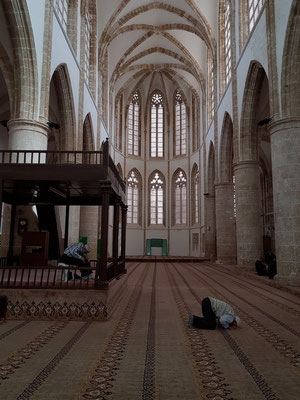 Innenraum der Lala-Mustafa-Pascha-Moschee