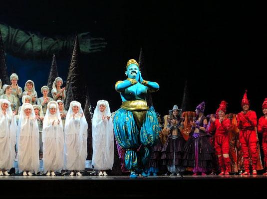 Stanislawski-Musiktheater, Aladino e la lampada magica, Applaus