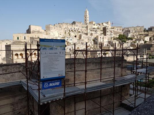Baustelle für Matera 2019