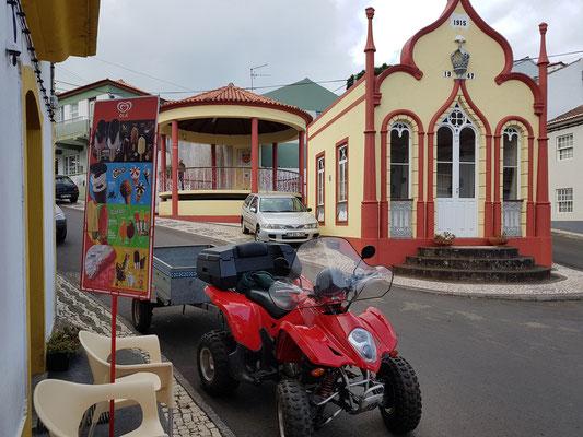 Topo war einst das wichtigste Städtchen von São Jorge und inoffizielle Hauptstadt der Insel.