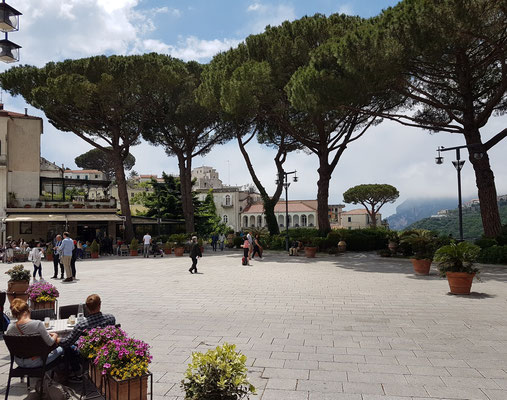 Ravello. Piazza Centrale