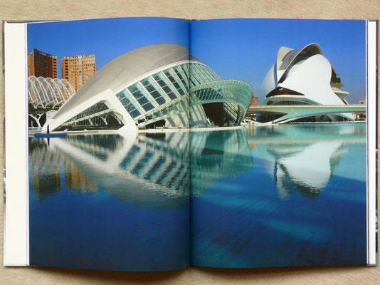 Ciudad de las Artes y de las Ciencias in Valencia, Spanien - Architekt: Santiago Calatrava