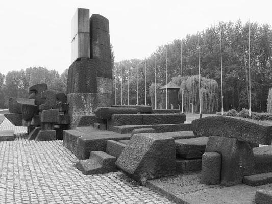 Denkmal in der Gedenkstätte