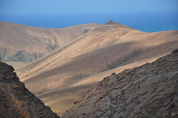 Blick vom Mirador Las Peñitas nach W