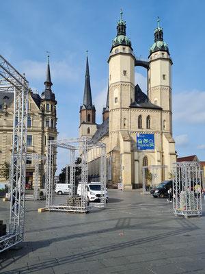 Halle (Saale),  Viertürmige Marktkirche Unser lieben Frau