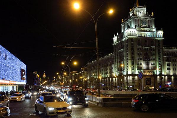 Bol. Sadovaya Ulica in Höhe der Tschaikowsky Concert Hall