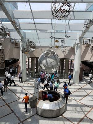 Im Innern des World Trade Centers