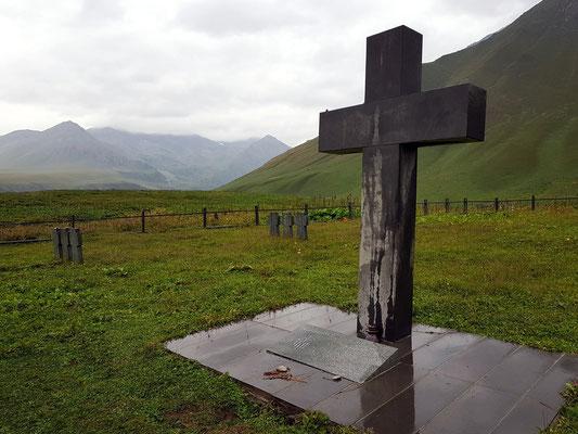 Ort der Erinnerung: Ein Friedhof für deutsche Kriegsgefangene an der georgischen Heerstraße