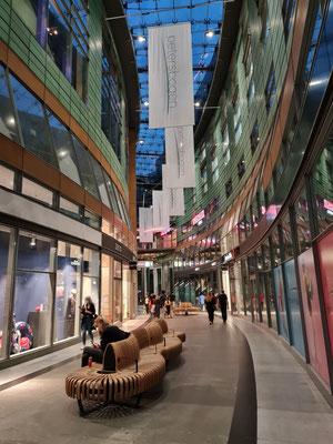Modernes Einkaufszentrum Petersbogen