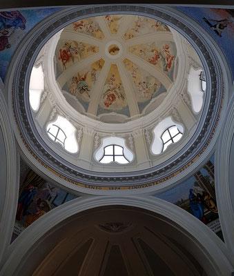 Santuario S. Maria delle Grazie Incoronata, Kuppel