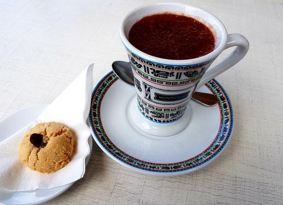 Dickflüssige Chocolate caliente