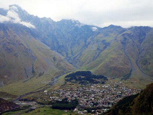 Stepanzminda in 1.700 m Höhe