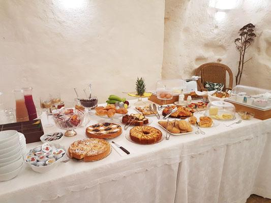 Frühstücksbuffet in Ai Terrazzini