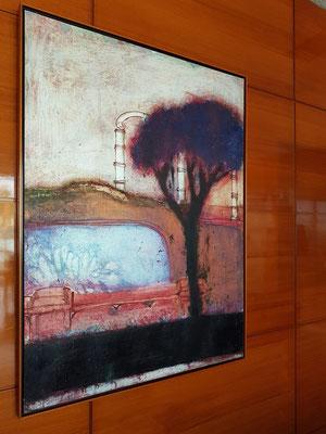 Best Semiramis, Gemälde im Lesezimmer