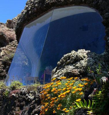 Mirador del Río. Panoramascheiben