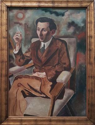 George Grosz (1893 - 1959), Der Autor Walter Mehring, 1926
