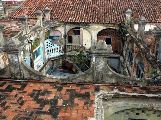 Camagüey, Blick vom Dach des Hostals CasAlta
