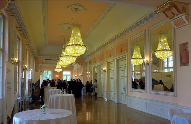 Foyer (an diesem Abend vor der Aufführung für eine geschlossene Veranstaltung)