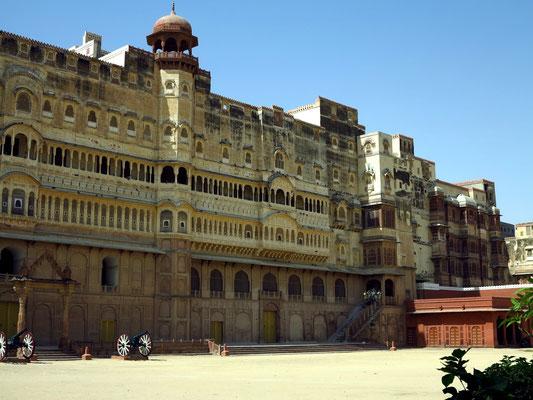 Nordfassade des Junagarh Forts