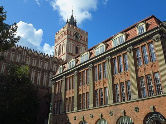 Stadtbibliothek und Kulturzentrum St. Marienkirche