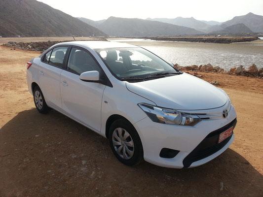 Mein Mietwagen Toyota Yaris Automatik