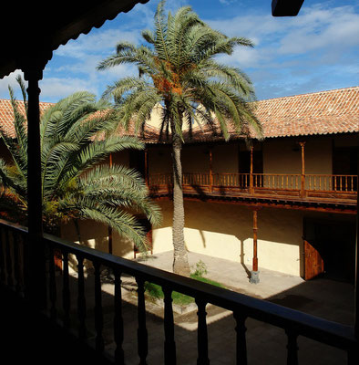 La Oliva, Casa de los Coroneles, Herrensitz aus dem 18. Jh.
