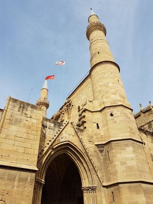 Selimiye-Moschee, erbaut im 13. Jahrhundert als Kathedrale Hagia Sophia, wurde 1571 von den Türken in eine Moschee umgewandelt