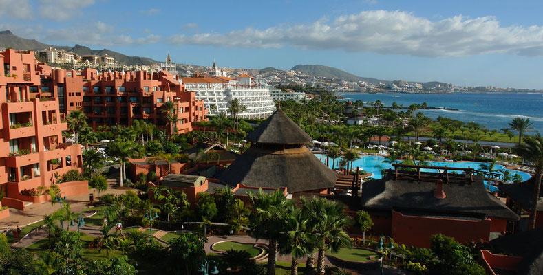 Ferienlandschaft Costa Adeje, Blick nach S