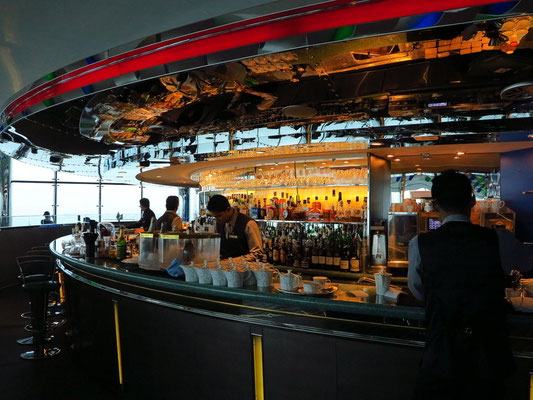 Bar im Restaurant SkyView