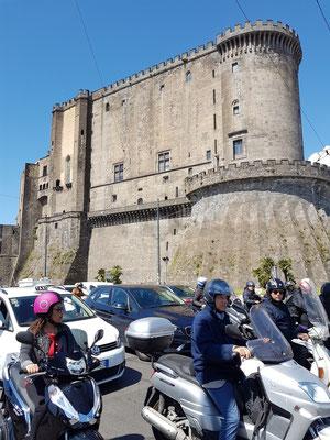 Castel Nuovo, Blick von der Meerseite