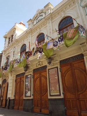 Teatro Leal San Cristóbal de La Laguna, Calle Obispo Rey Redondo Nr. 50, Stilrichtung: Eklektizismus