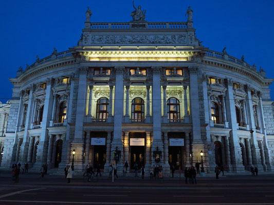 """Burgtheater vor der Aufführung von """"Hedda Gabler"""""""