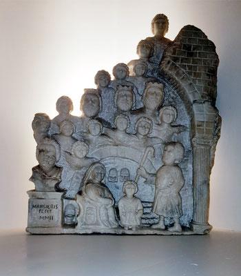 """Skulptur von MAO in meinem Zimmer """"Marsia"""""""